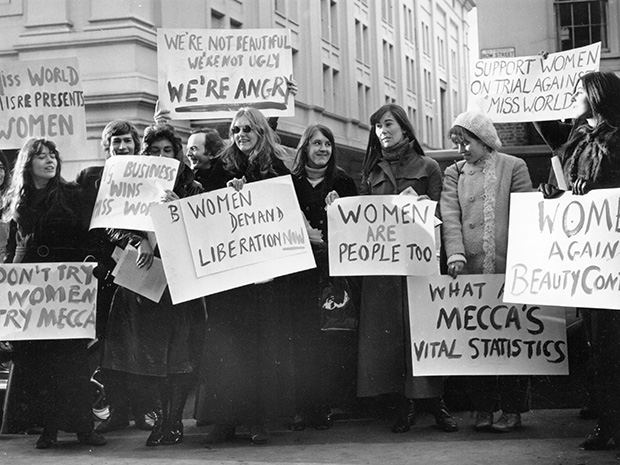 Women's Liberation protest. Credit: W. Breeze / Evening Standard / Getty Images